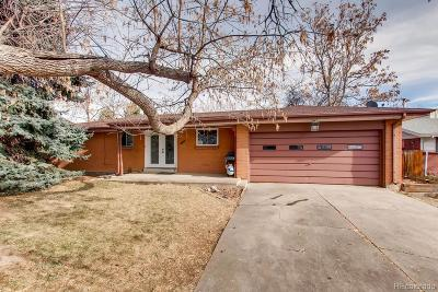 Arvada Single Family Home Active: 8546 Eaton Street