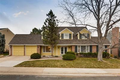 Centennial Single Family Home Active: 7162 South Glencoe Circle