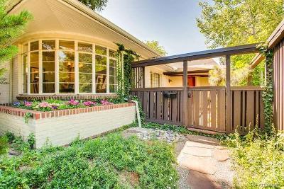 Denver Single Family Home Sold: 1050 Monaco Parkway
