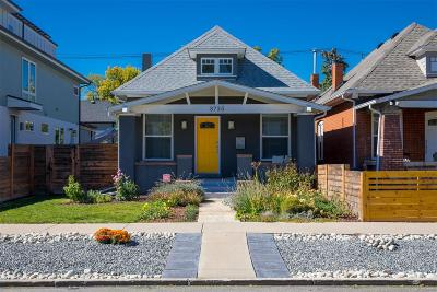 Denver Single Family Home Active: 3735 Osage Street
