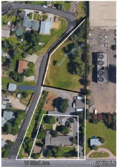 Denver Residential Lots & Land Active: 5210 North Columbine Court