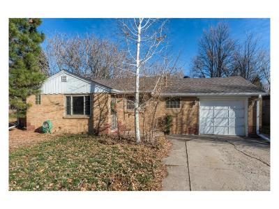 Wheat Ridge Single Family Home Under Contract: 3880 Eaton Street