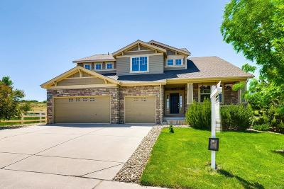 Castle Rock Single Family Home Under Contract: 4091 Eagle Tail Lane