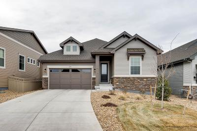 Castle Rock Single Family Home Active: 2368 Lassen Lane