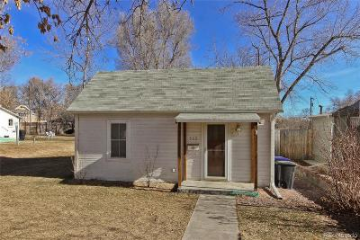 Longmont Single Family Home Under Contract: 332 Atwood Street
