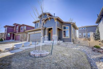 Highlands Ranch Single Family Home Under Contract: 10865 Brooklawn Road
