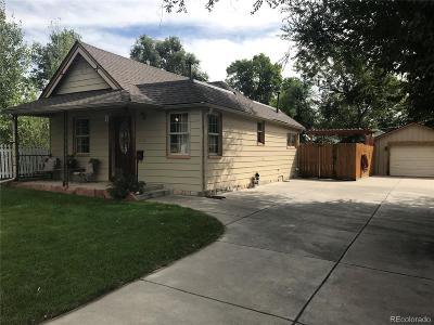 Edgewater Single Family Home Under Contract: 2576 Benton Street