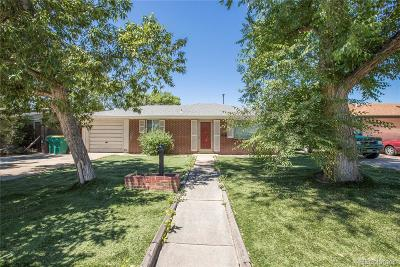 Wheat Ridge Single Family Home Under Contract: 4745 Cody Street