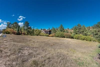 Castle Rock Residential Lots & Land Active: 6323 Lost Canyon Ranch Road