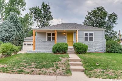 Denver Single Family Home Active: 1861 South King Way