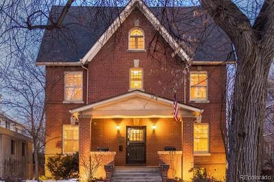 Denver Single Family Home Active: 670 North Ogden Street