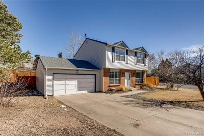 Castle Rock Single Family Home Under Contract: 1200 Butterfield Lane