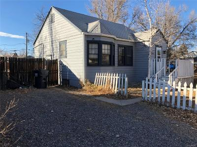 Englewood Single Family Home Active: 3345 South Pearl Street