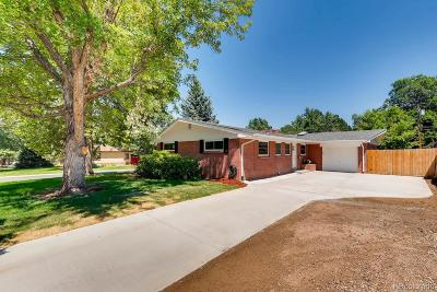Littleton CO Single Family Home Active: $499,000