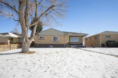 Denver Single Family Home Under Contract: 3260 Kearney Street