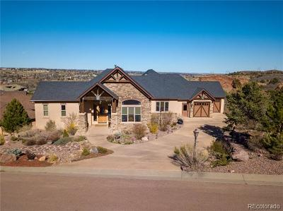 Manitou Springs Single Family Home Active: 241 Crystal Valley Road