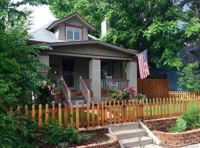 Denver Single Family Home Active: 3233 West 29th Avenue