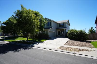 Commerce City Single Family Home Under Contract: 13438 East 104th Drive