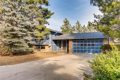 Boulder Single Family Home Under Contract: 6897 Harvest Road