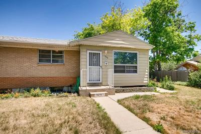 Denver CO Single Family Home Active: $295,000