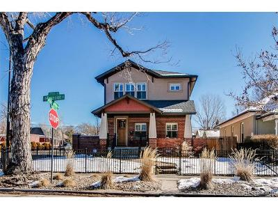 Denver CO Single Family Home Sold: $875,000
