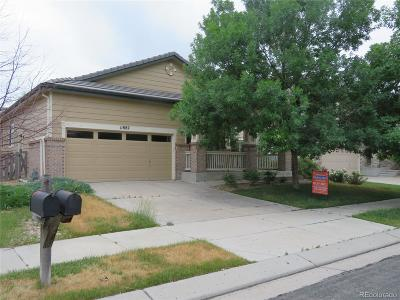 Commerce City Single Family Home Active: 11882 Fairplay Street