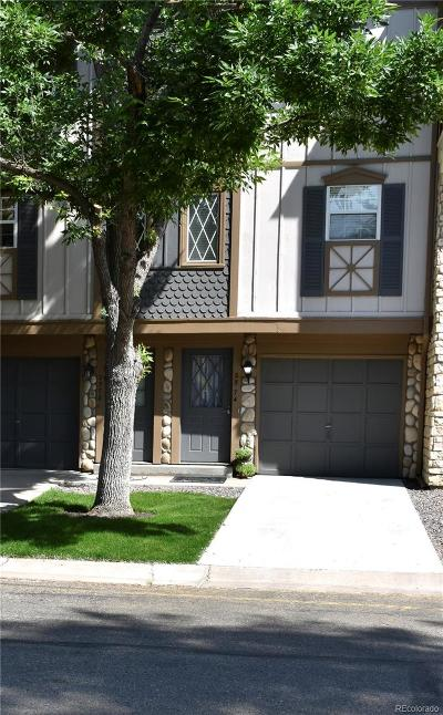 Centennial Condo/Townhouse Under Contract: 2574 East Nichols Circle