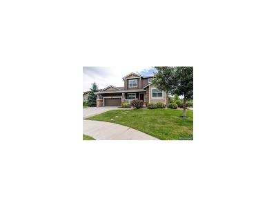 Aurora Single Family Home Under Contract: 25381 East Indore Drive