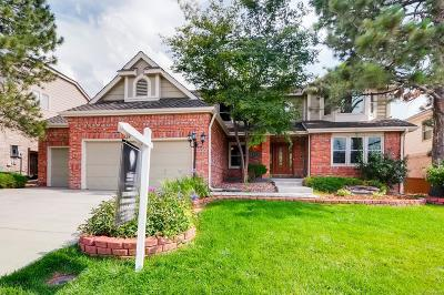 Centennial Single Family Home Under Contract: 5678 South Rifle Court