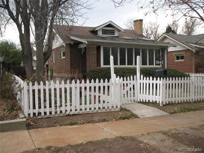 Single Family Home Active: 2543 North Holly Street