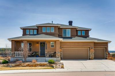 Colorado Springs Single Family Home Active: 12677 Barossa Valley Road