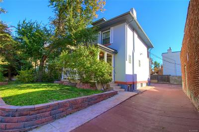 Denver Single Family Home Active: 520 East 1st Avenue