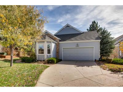 Castle Rock Single Family Home Under Contract: 2906 Masters Club Circle