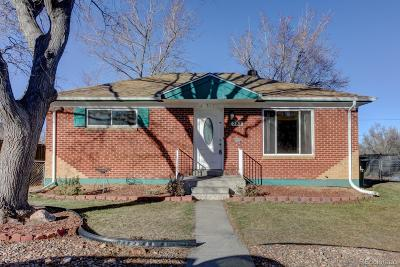 Northglenn Single Family Home Active: 281 East 105th Avenue