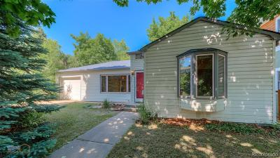 Boulder Single Family Home Active: 2735 7th Street