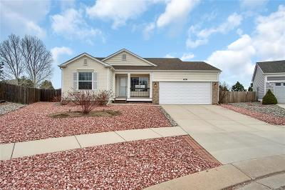 Colorado Springs Single Family Home Active: 6591 Cache Drive