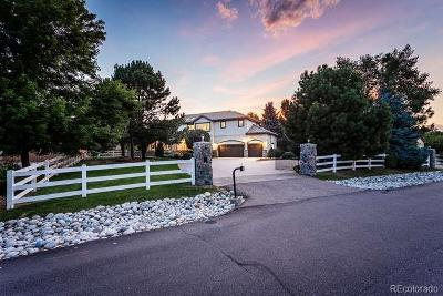 Arvada Single Family Home Active: 5845 Zinnia Court