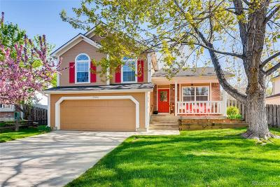 Broomfield Single Family Home Under Contract: 3304 West 127th Avenue
