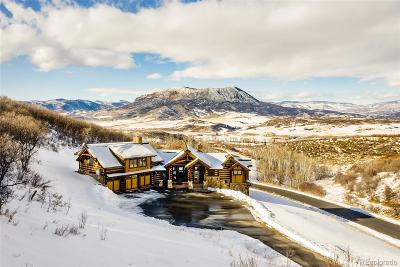 Steamboat Springs Single Family Home Active: 27200 Cowboy Up Road