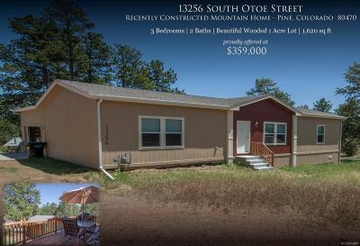 Pine Single Family Home Active: 13256 South Otoe Street