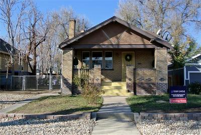 Denver Single Family Home Active: 4611 Zuni Street