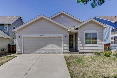 Denver Single Family Home Active: 4157 Liverpool Street