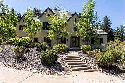Castle Rock Single Family Home Active: 1043 Meteor Place