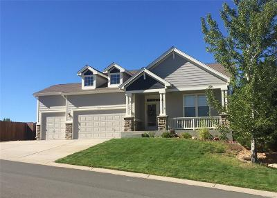 Crystal Valley Ranch Single Family Home Under Contract: 646 Eaglestone Drive