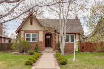 Denver Single Family Home Active: 2668 Elm Street