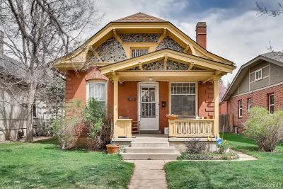 Denver Single Family Home Active: 922 South Clarkson Street