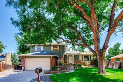 Littleton Single Family Home Active: 7550 South Gallup Street