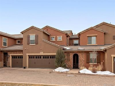 Highlands Ranch Condo/Townhouse Active: 9181 Viaggio Way