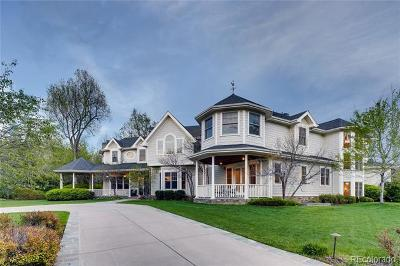 Cherry Hills Village Single Family Home Active: 980 East Tufts Avenue