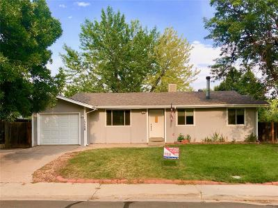 Broomfield CO Single Family Home Under Contract: $339,900